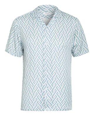 REISS Uptown Resorthemd Herren, Blau