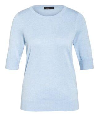 Repeat Pullover Mit 3/4-Arm blau