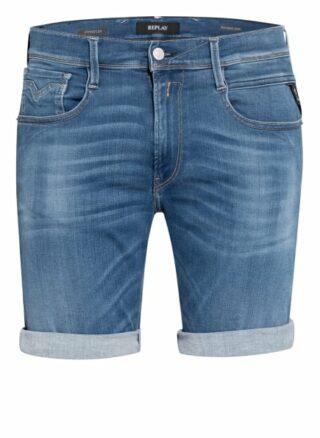 Replay Ambass Jeans-Shorts Herren, Blau