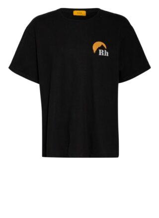Rhude Oversized-Shirt schwarz
