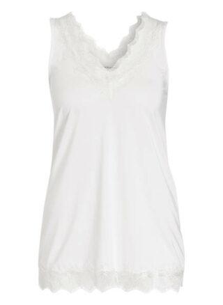 Rosemunde Top Damen, Weiß