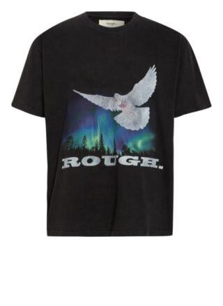 Rough. Oversized-Shirt schwarz