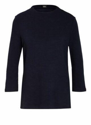 S.Oliver Black Label Shirt Mit 3/4-Arm blau