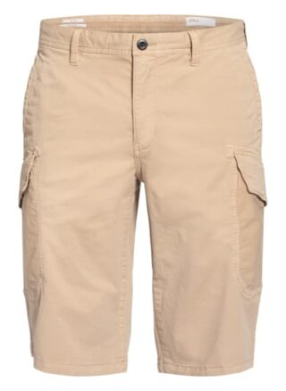 S.Oliver Red Cargo-Shorts beige