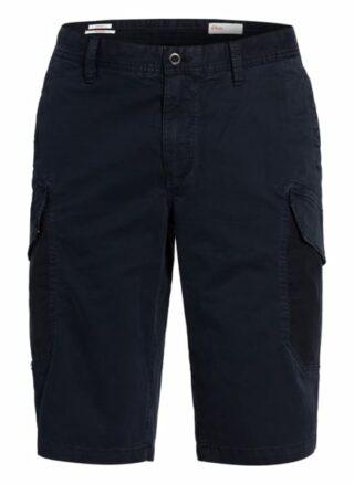 S.Oliver Red Cargo-Shorts blau