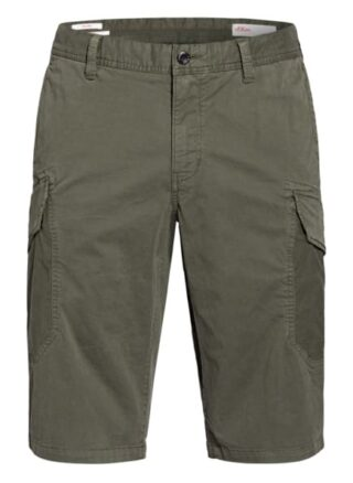 S.Oliver Red Cargo-Shorts gruen