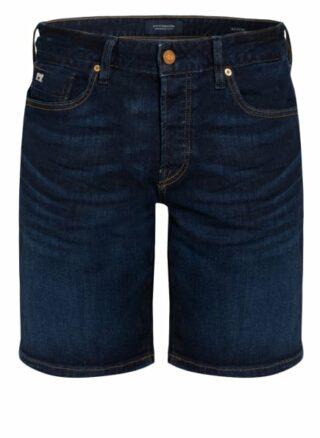Scotch & Soda Ralston Jeans-Shorts Herren, Schwarz