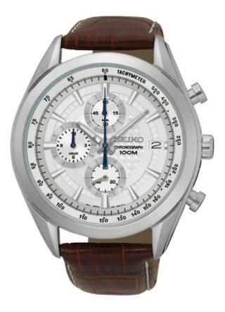 Seiko SSB181P1 Armbanduhr Herren, Braun