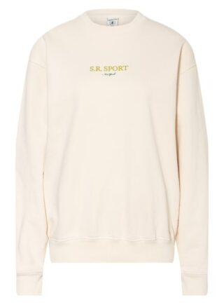 SPORTY & RICH Sweatshirt Damen, Beige