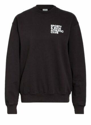 Sporty & Rich Sweatshirt schwarz