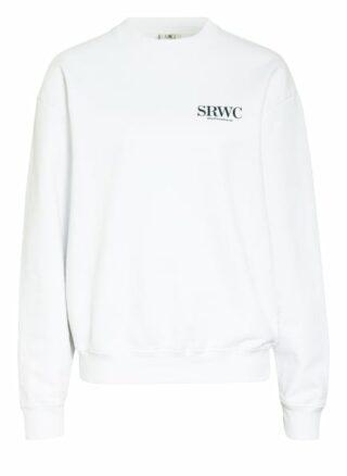 Sporty & Rich Sweatshirt weiss