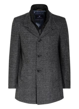 Strokesman's Mantel Mit Abnehmbarem Steppeinsatz grau