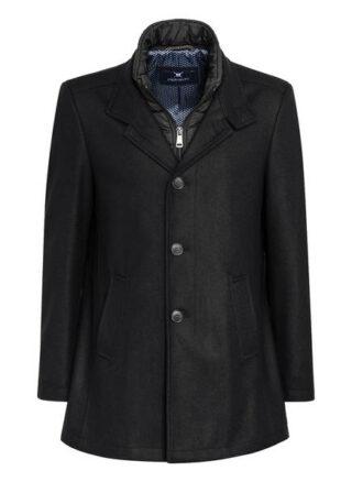 Strokesman's Mantel Mit Abnehmbarem Steppeinsatz schwarz