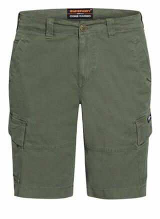 Superdry Cargo-Shorts Herren, Grün