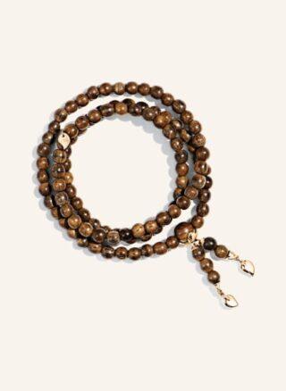 Tamara Comolli Armband India Medium Aus 18 Karat Roségold Und Snakewood rosegold