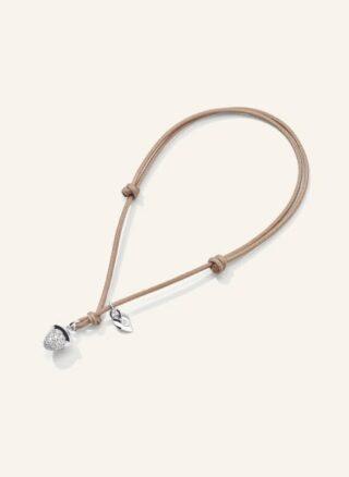 Tamara Comolli Armband Mymikado Aus 18 Karat Weißgold Mit Diamant Pavé silber