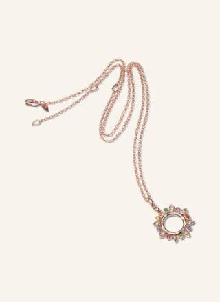 Tamara Comolli Halskette Gypsy Sun Aus 18 Karat Roségold Mit Edelsteinen rosegold