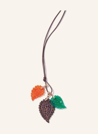 Tamara Comolli Halskette India Aus 18 Karat Roségold Snakewood Und Edelsteinen rosegold