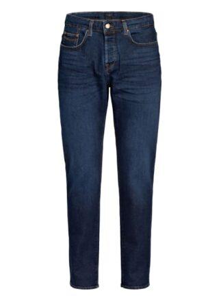 Ted Baker Simay Straight Leg Jeans Herren, Blau
