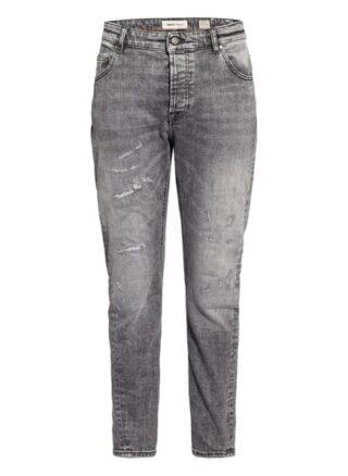 tigha Billy The Kid 9941 Tapered Jeans Herren, Grau