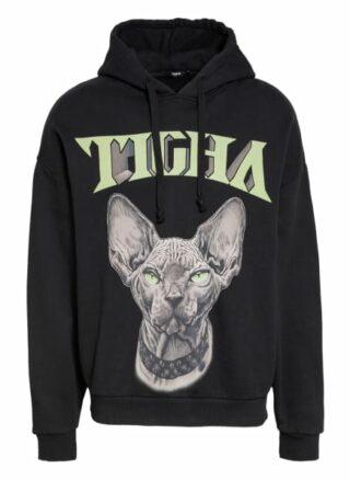 Tigha Oversized-Hoodie schwarz