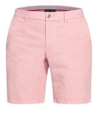 Tommy Hilfiger Chino-Shorts Brooklyn Mit Leinen rosa