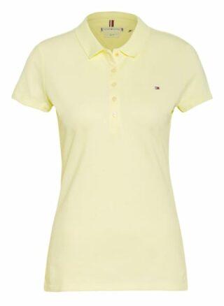 Tommy Hilfiger Piqué-Poloshirt gelb