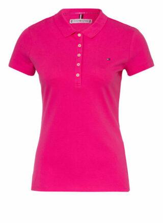 Tommy Hilfiger Piqué-Poloshirt pink
