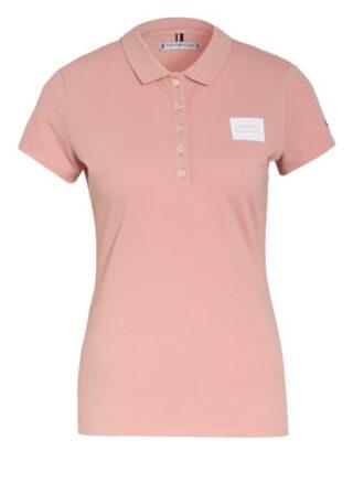 Tommy Hilfiger Piqué-Poloshirt Damen, Pink