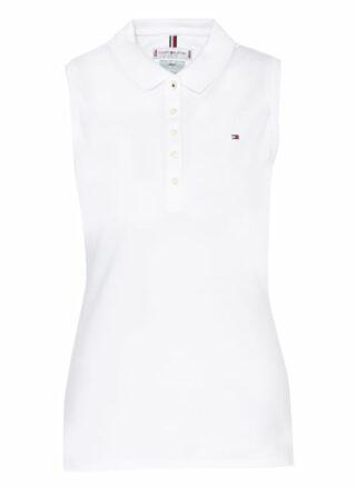 Tommy Hilfiger Piqué-Poloshirt weiss