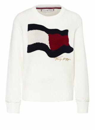 Tommy Hilfiger Pullover Damen, Weiß