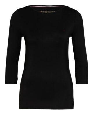 Tommy Hilfiger Shirt Mit 3/4-Arm schwarz