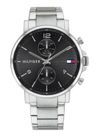Tommy Hilfiger TH1710413 Armbanduhr Herren, Silber