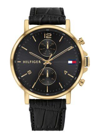 Tommy Hilfiger TH1710417 Armbanduhr Herren, Schwarz