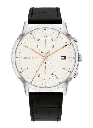 Tommy Hilfiger TH1710434 Armbanduhr Herren, Schwarz