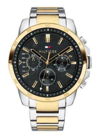 Tommy Hilfiger TH1791559 Armbanduhr Herren, Silber