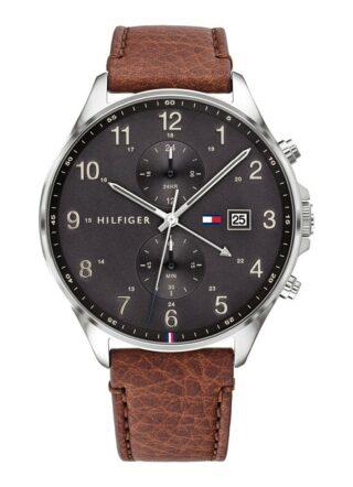 Tommy Hilfiger TH1791710 Armbanduhr Herren, Silber