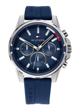 Tommy Hilfiger TH1791791 Armbanduhr Herren, Blau