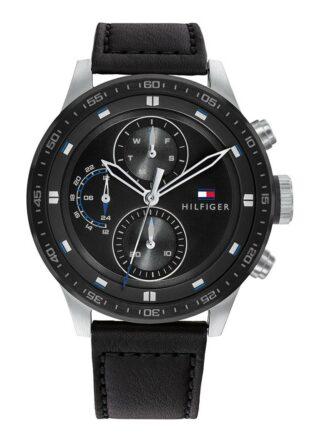 Tommy Hilfiger TH1791810 Armbanduhr Herren, Schwarz