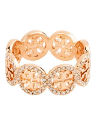 TORY BURCH Miller Ring Damen, Gold