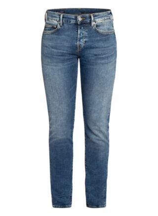 True Religion Rocco Skinny Jeans Herren, Blau