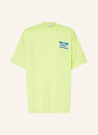 VETEMENTS Oversized-Shirt Herren, Gelb