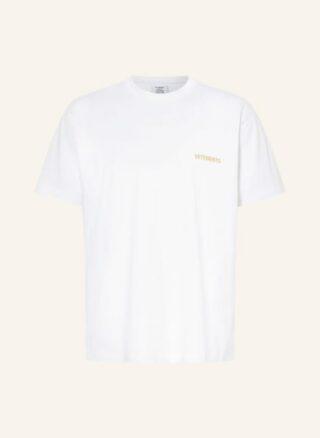 VETEMENTS Oversized-Shirt Herren, Weiß