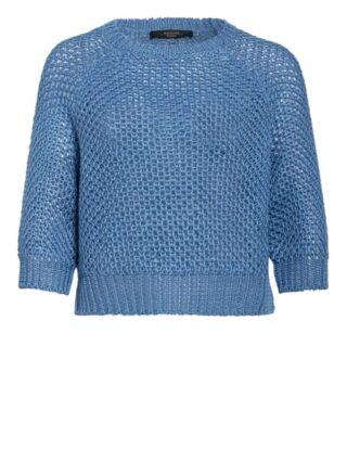 Weekend Maxmara Pullover Mit 3/4-Arm blau