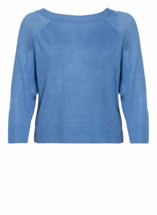 Weekend Maxmara Pullover Turku Mit 3/4-Arm blau