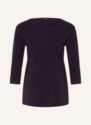 Weekend Maxmara Shirt Multia Mit 3/4-Arm blau