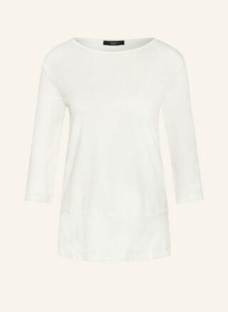 Weekend Maxmara Shirt Multia Mit 3/4-Arm weiss