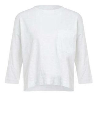 Whistles Shirt Mit 3/4-Arm weiss