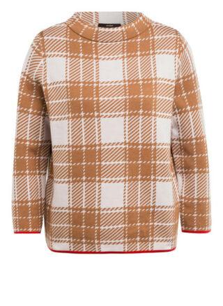 Windsor. Pullover Mit 3/4-Arm braun
