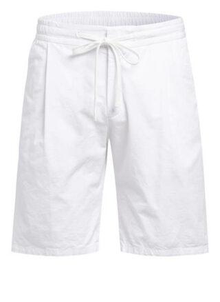 windsor. Cortino Shaped Fit Shorts Herren, Weiß